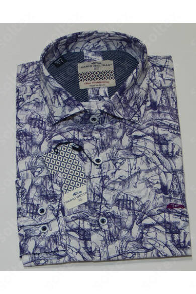 Modern mintázatú ing