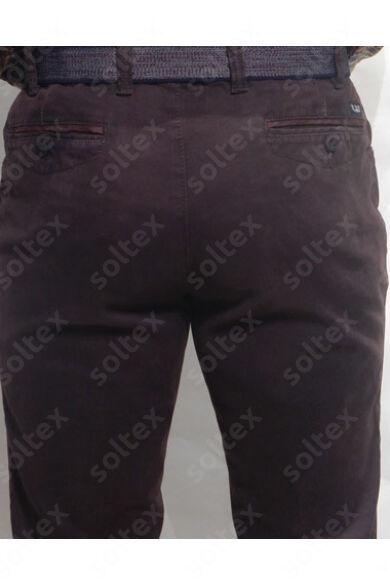Bordó pamut nadrág
