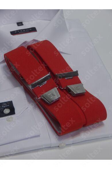 35 mm széles egyszínü nadrágtartó