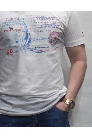 Kerek nyakú design póló ocean team