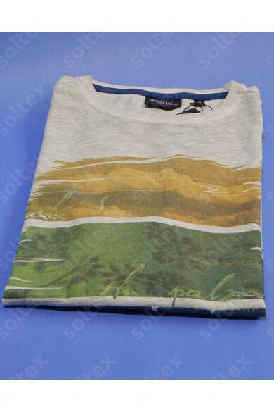 Kereknyakú vékony pamut póló
