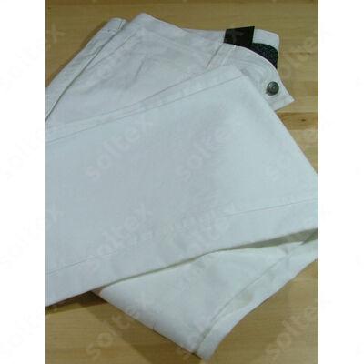 Fehér pamut nadrág