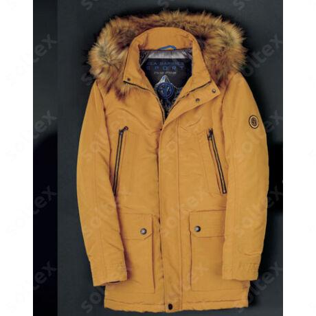 olasz meleg dzseki szőrmés kapucnival