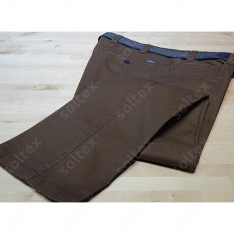 Terrakotta színű pamut nadrág
