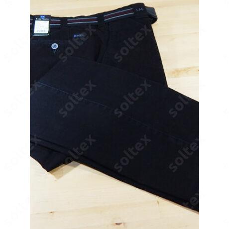 Fekete pamut nadrág